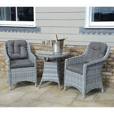 Kensington Bistro Chair Kensington Deluxe 70cm Table With 2 Henley Dining Armchairs