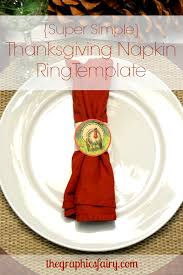 turkey napkin ring thanksgiving turkey napkin rings template the graphics fairy