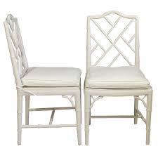 Bamboo Dining Room Chairs Bamboo Trellis U0026 Cane Dining Side Chairs Bamboo Trellis Side