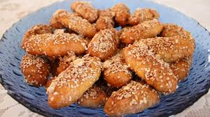 melomakarona is a traditional greek cookie that is soaked in a