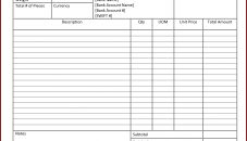 real estate tax invoice template invoices property simple