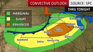 Weather Map Chicago by Severe Storms Ramp Up Through Friday The Weather Channel