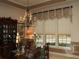 formal dining room window treatments formal dining room window