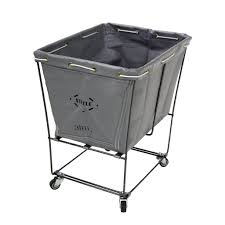 Canvas Laundry Hamper by Steele Canvas 152 Elevated Utility Truck Laundry Cart S100801