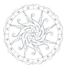 free printable mandala coloring pages adults pdf colouring