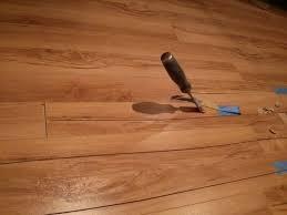 replacing water damaged laminate flooring planks meze