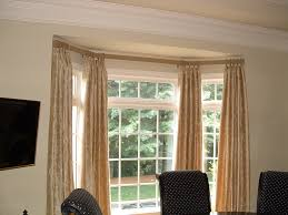 popular bay window curtains designs kenaiheliski com bay window curtain rod model and style
