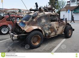 survival truck volkswagen beetle post apocalyptic survival vehicle editorial