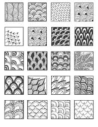 pattern ideas grid08 zentangles patterns and doodles