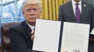 Oval Office Through The Years by Every Order Trump Has Signed And What His Actions Mean Cnnpolitics