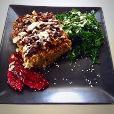 vegan thanksgiving recipes lentil meatloaf w caramelized onions