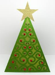 triangle tree card