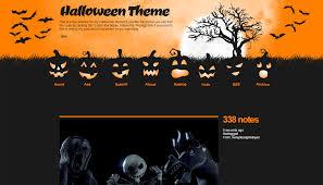 halloween theme on white background themes by eris
