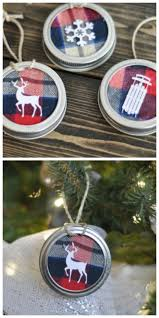 37 magical ways to use mason jars this christmas flannel shirts