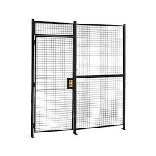 Partitions One Wall Woven Wire Partitions Material Handling Store