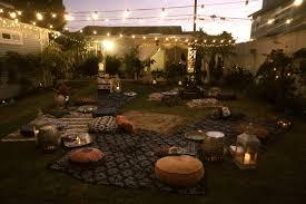 Backyard Parties Triyae Com U003d Summer Night Backyard Party Various Design