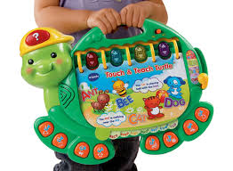 amazon com vtech touch and teach turtle book toys u0026 games
