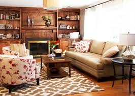 Interiors By Decorating Den One Cushion Sofa Living Room Traditional With Beige Couch Built In
