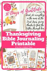 Thanksgiving Printable Free Free Thanksgiving Bible Journaling Printable Pack Money Saving