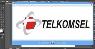 tutorial photoshop cs5 membuat logo tutorial membuat logo telkomsel dengan adobe illustrator youtube