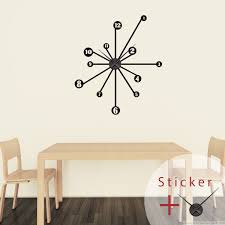 adhesive decorative clocks for walls mapo house and cafeteria