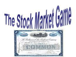 stock market simulation stock market basics u2026 stock