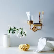 brass sink caddy food