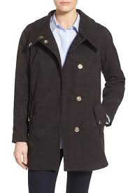 eliza j textured cotton blend boyfriend coat nordstrom rack