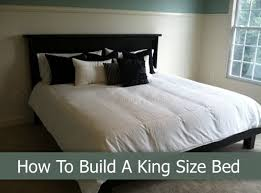 how to build a king size bed homestead u0026 survival