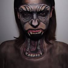 Cool Halloween Makeup Ideas For Men by How To Dawn Of The Planet Of The Apes Halloween Makeup Guides