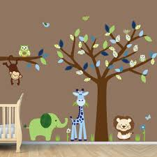kids wall decor owl wall decal owl nursery decal baby wall baby boy wall decorations u2026