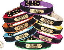 personalized collar etsy