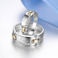 engraved wedding rings blue sweet rings engraved wedding rings with diamond