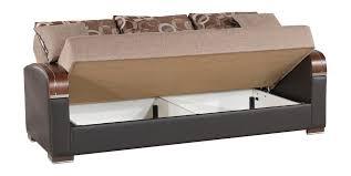 Convertible Sofa Bed Mobimax Brown Convertible Sofa Bed By Casamode