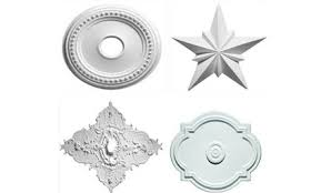 diy ceiling medallions as decor care2 healthy living
