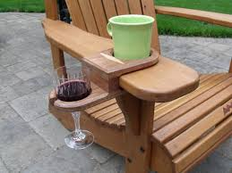 Wooden Adirondack Chairs On Sale Cup And Wine Glass Holder For Adirondack Chair Works On Almost
