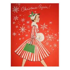 vintage christmas cards zazzle