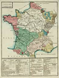Versailles France Map by Map Of The Gabelle Taxation France 1781