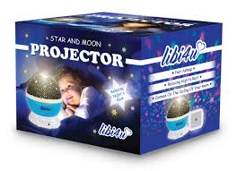 Baby Ceiling Light Projector by Libi4u Romantic Cosmos Star Moon Sky Projector For Baby Kids