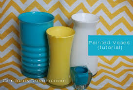 Glass Vase Painting How To Paint A Glass Vase Tutorial The Creative Mom
