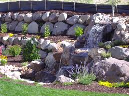 Pictures Of Retaining Wall Ideas by Rock Wall With Ground Cover And Plants In Salt Lake County And