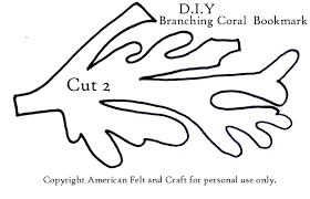 printable coral reef template printable