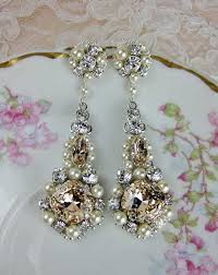 chandelier wedding earrings chandelier wedding jewelry