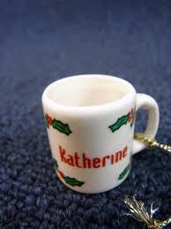 ganz personalized name mug coffee cup
