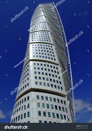 view turning torso twisted tower block stock photo 13062703