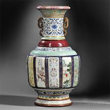 Vase Sets Chinese Porcelain Vase Sets Us Auction Record 1 Chinadaily Com Cn