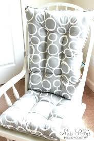 cushion for rocking chair nursery custom cushions glider by on