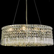 Oval Crystal Chandelier Brizzo Lighting Stores 21