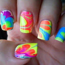 trend neon nails beautylish