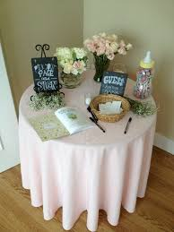 Entrance Table by Entrance Table At A Baby Shower Our Events Pinterest